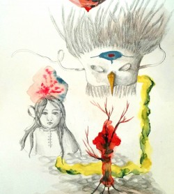 Kleine Geschichten: Zeichnungen und Gravuren von Estelle Lacombe