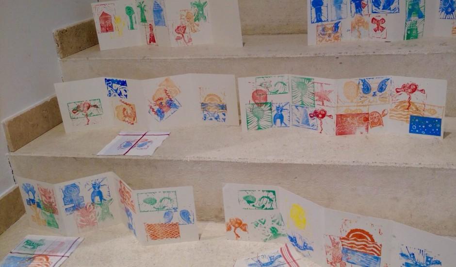 Gravuratelier für Kinder mit der Künstlerin Estelle Lacombe